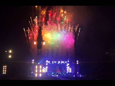 Coldplay A Head Full Of Dreams Tour Full Concert | Rose Bowl Pasadena, California | Aug 2016 HD
