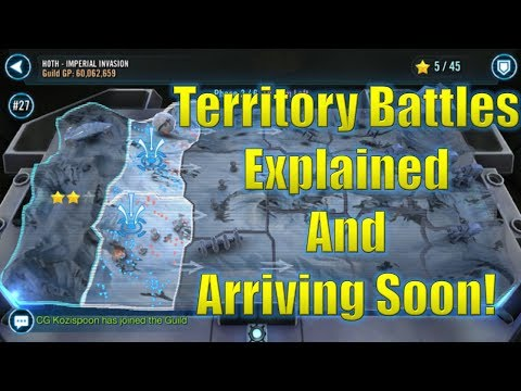 Star Wars Galaxy of Heroes: Territory Battles Explained and Arriving Soon!