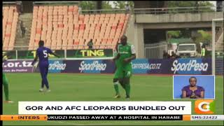 Gor and AFC Leopards bundled out of Super Cup