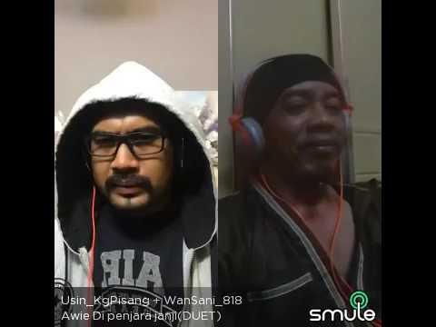 Smule!! Di Penjara Janji - Dato Awie duet Wan Sani (Brunei Fan)