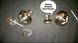 Dunlop Straplok Dual Design Install on Telecaster