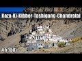 Ep6 | Day7-Kaza-Ki-Kibber-Tashigang-Chandratal | Ride to Spiti