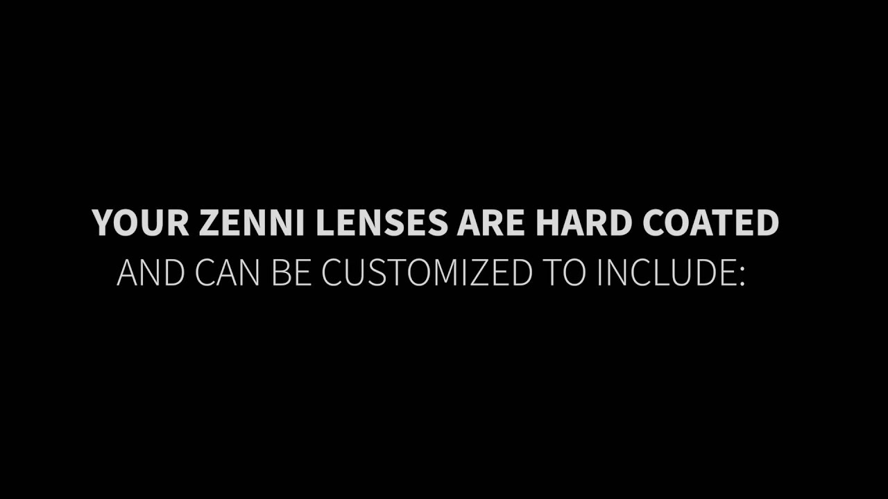 Zenni Facts: Customized Lens Coating
