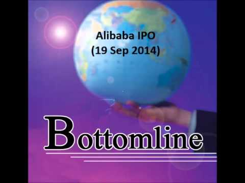 938LIVE Bottomline - Alibaba IPO (19 Sep 2014)