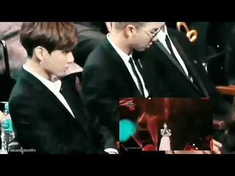 Jungkook got jealous when IU try to kiss Lee sun gyun