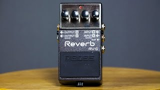 Ambient Guitar Gear Review - Boss RV-6 Reverb (Strymon DIG Fender Baritone)
