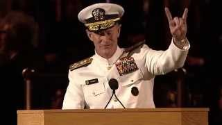 University of Texas at Austin 2014 Commencement Address - Admiral William H. McRaven