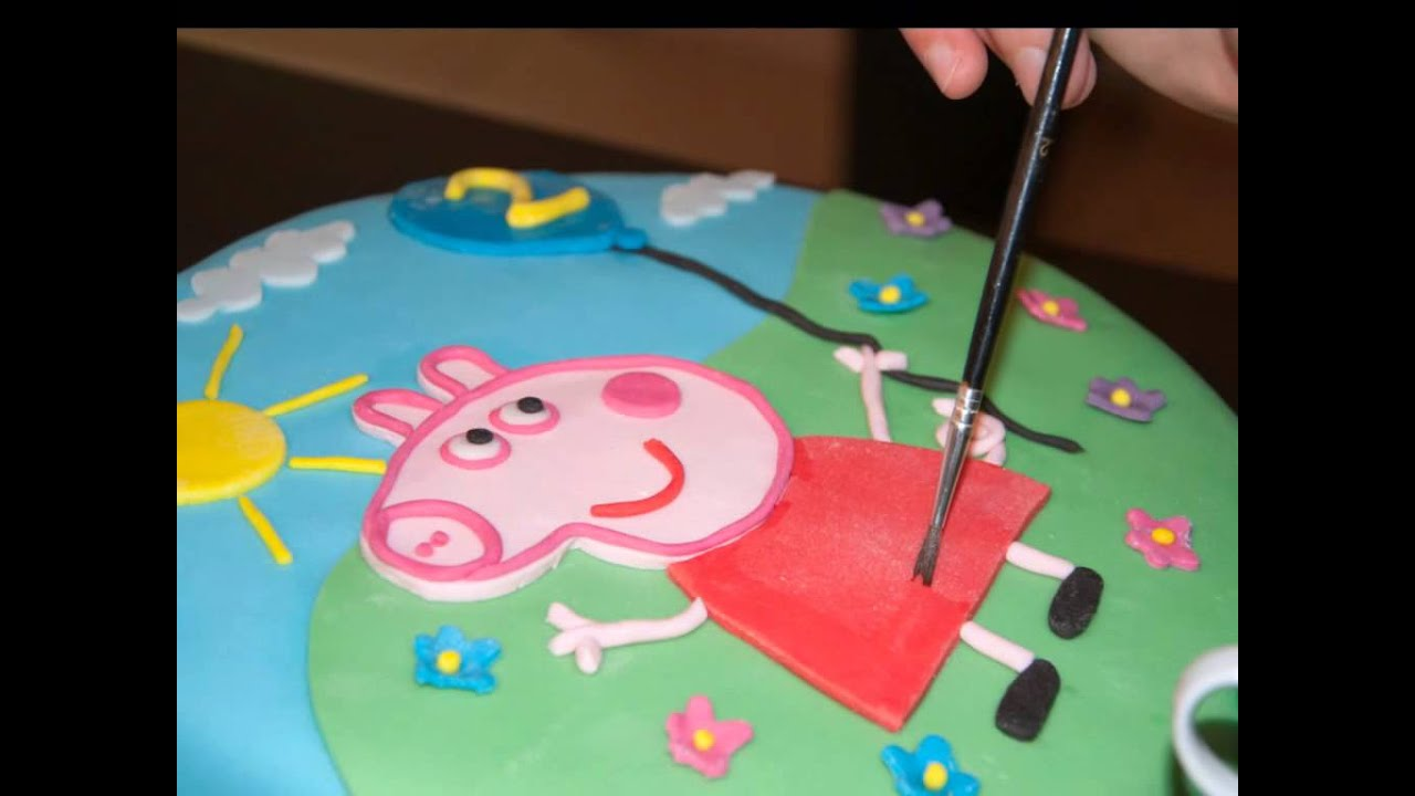 I Want To Make A Peppa Pig Birthday Cake