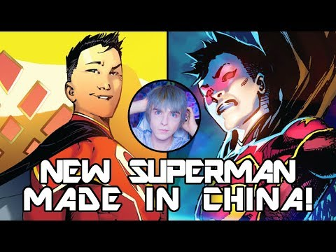 NEW SUPERMAN IS MADE IN CHINA!? - New Superman: Vol 1: Made In China - Part 1