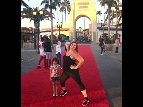 Universal Studios Hollywood | Kathleen Finally Becomes a Movie Star! - Vlog