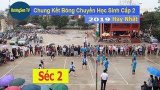 Chung Kết Bóng chuyền học sinh cấp 2 Thạch Thành 2019   Thành Minh & Thạch Sơn- SÉC 2