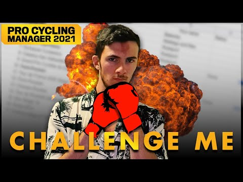 CHALLENGE ME #0    Pro Cycling Manager 2021  