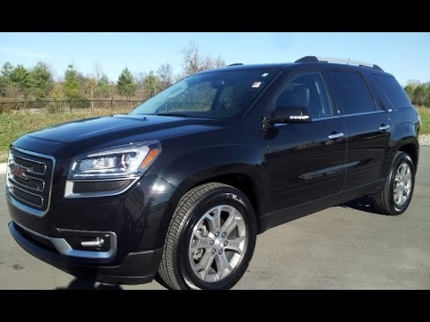 sold.2013 GMC ACADIA SLT-1 AWD CARBON BLACK 9K GM ...