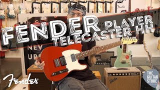 Oyuncu Fender Telecaster HH | Pau Ferro Klavye Sonic Kırmızı