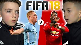 MAN CITY vs MAN UTD | FIFA 18 SCORE PREDICTOR