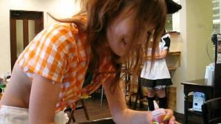杏野ヒナナのネコミミメイド