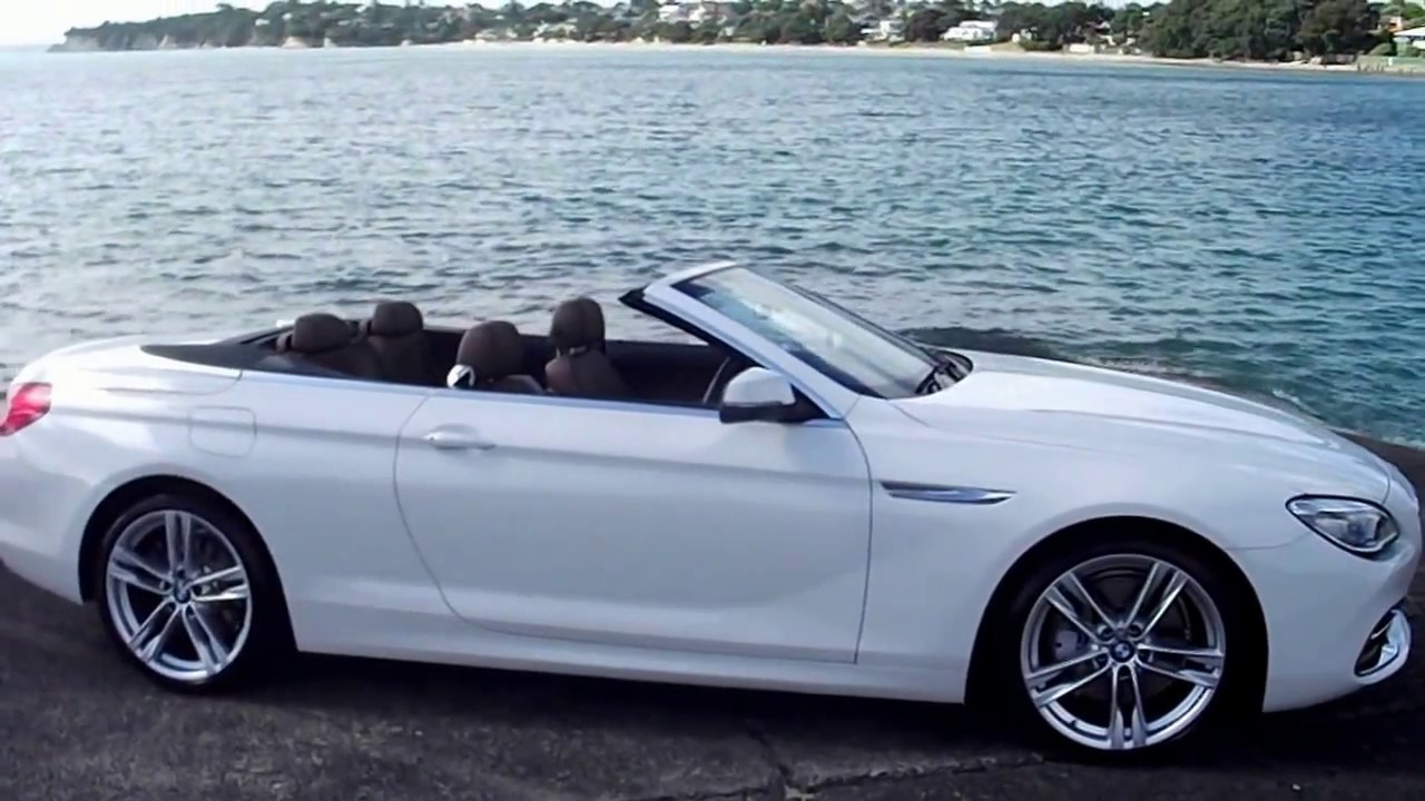 2017 Bmw 640i Convertible Soft Top