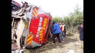 Chronology of events that unfolded before the death of 56 people in Kericho road crash