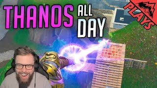 Thanos All Day - Fortnite Gameplay #41 (Fortnite Infinity Gauntlet Mode StoneMountain64)