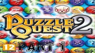 Puzzle Quest 2 [HD] Playthrough part 1 (Xbox 360)