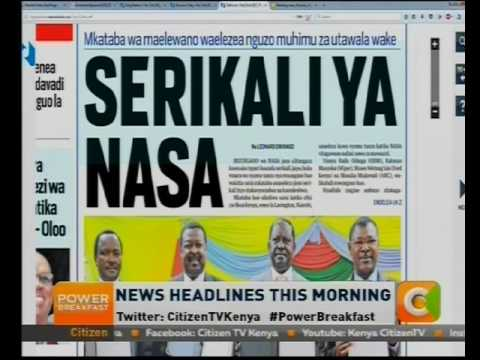 Power Breakfast News Review : Headlines this morning