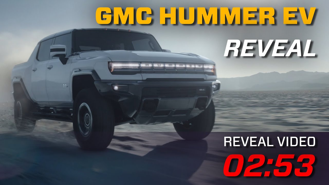 GMC Hummer EV Reveal w/ First Hand Q&A Part I - YouTube