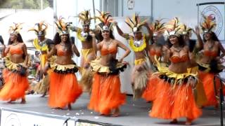 Tahitian Dance Lokelani's Rhythm of the Islands At Ho'olaule'a Lawndale 2013
