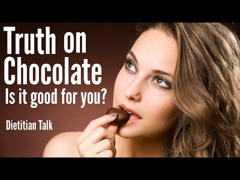 Truth on Chocolate - Is it good for you? Dietitan Talk