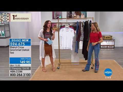 HSN | Sheryl Crow Fashions 1st Anniversary . http://bit.ly/2FwJ1RD