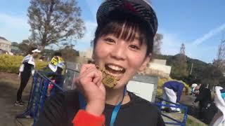 LinQリーダー・吉川千愛が「第5回 福岡マラソン2018」で 42.195kmを激走...