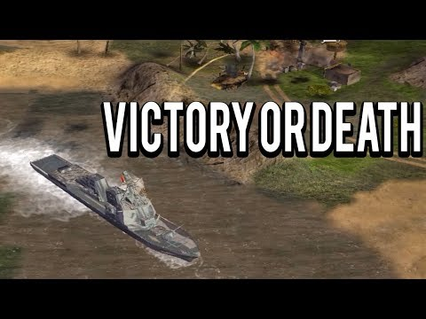NAVAL WARFARE - Victory or Death Mod C&C Generals Zero Hour Mod