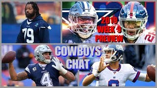 2019 WEEK 9 FULL GAME PREVIEW SIM: Dallas Cowboys @ New York Giants +Injury UPDATES *FAN FRIDAY*