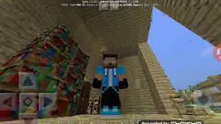 Adik vs kaka bikin rumah | minecraft