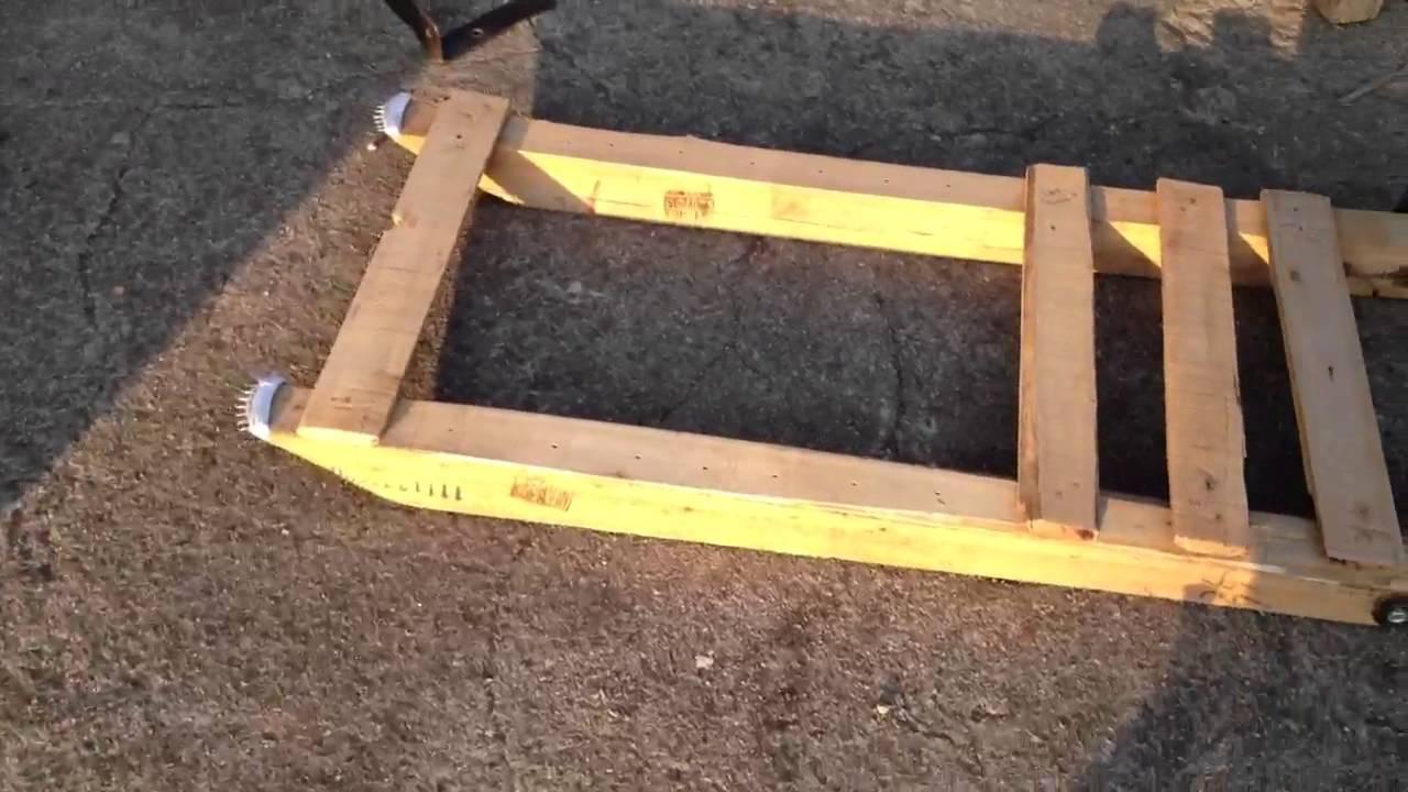 Slittino la costruzione continua 001 youtube for Costruire una semplice capanna di legno