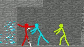 Animation vs Minecraft fan made Part 1 - stickman animations