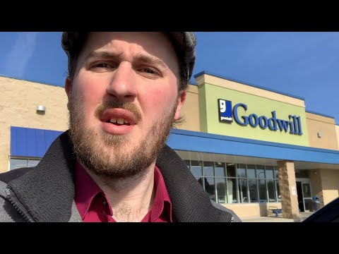 10 Hours Thrifting Milwaukee Goodwill | Great Items to Sell on eBay