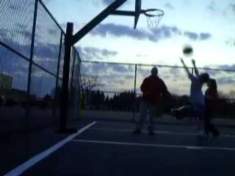 HiQual: Playing Basketball At The Reynolds Junior Senior High School!-(4/9/2009!) (Part 42 of 51!)
