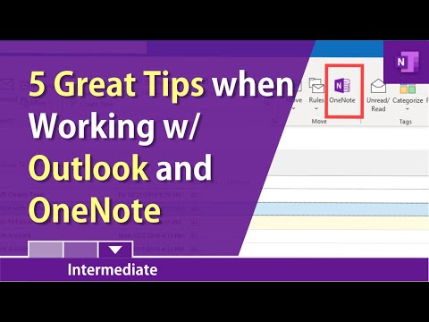 Five great tips when using OneNote & Outlook together by Chris Menard
