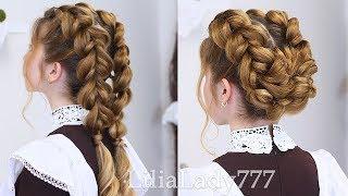 видео Красивые косички в школу (фото)