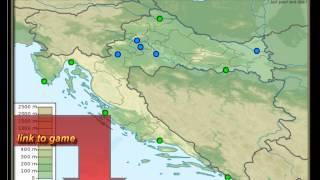 Cities In Croatia, Geography Practice, Zagreb, Split, Pula,osijek,rijeka,zadar,dubrovnik,