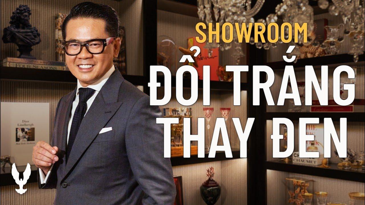 """Showroom Thái Công """"bị"""" đổi trắng thành đen"""