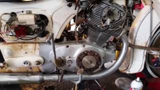 1965 Honda Dream 305 Restoration Project!