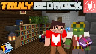 Truly Bedrock SMP - S2 : E2 - Interior Decorating and Mending Books