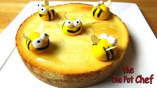 Baked Honey Cheesecake - Recipe