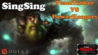 Dota 2 - Power Rangers vs Team Tinker 3# : Highlights - MSI BEAT AT 2014