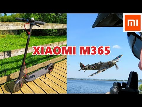 Xiaomi M365 Scooter versus Lead Acid Zinc Scooter Plus Radio Tests