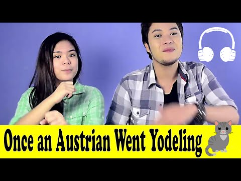 Once an Austrian Went Yodeling | Family Sing Along - Muffin Songs
