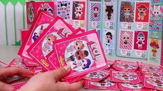 My Trick to Complete LOL Surprise Panini Sticker Book | Toys and Dolls Fun for Kids | SWTAD