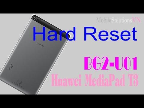 Hard Reset Pattern Lock Huawei BG2-U01 MediaPad T3 7.0(2018) Tablet | MobileSolutionsVN
