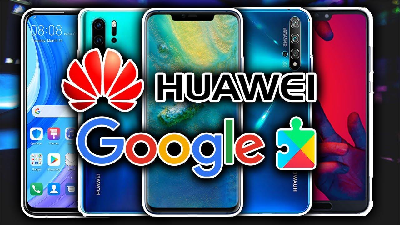 Los mejores celulares HUAWEI con  los SERVICIOS DE GOOGLE 2020